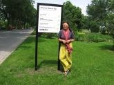 Un jardin des Premières Nations comme lieu culturel