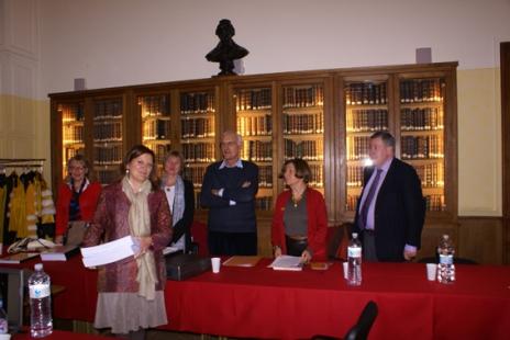 Soutenance de la thèse à l'Université de la Sorbonne