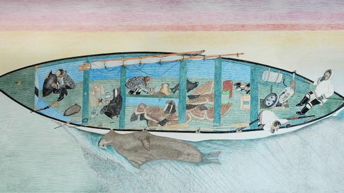 kananginak-pootoogook-inuit-biennale-venise
